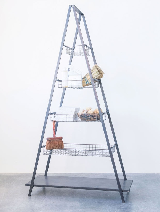Basket Ladder Shelf