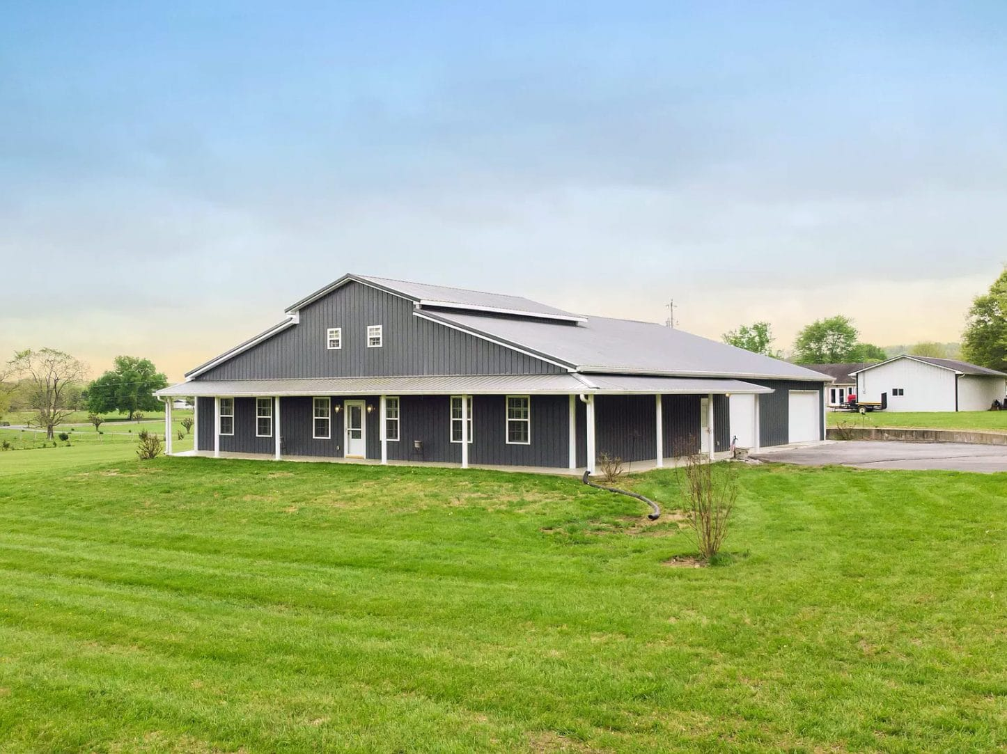 Lewisburg, TN Metal Barn House For Sale