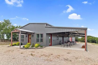 Malone, TX 66-acre ranch with custom barndo