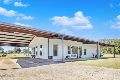 Fruitvale, TX Modern Farmhouse Barndo